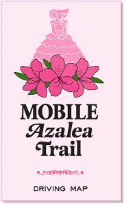 Azalea Trail Driving Map Image